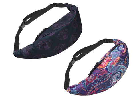 Couple Waist Bag - Cheerful Print