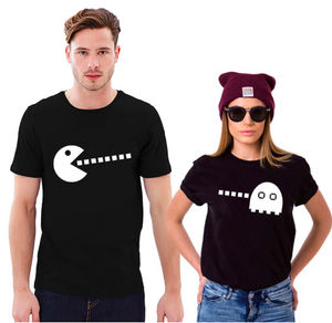 "Couple T-Shirt  ""Waka Waka Eat Me"""