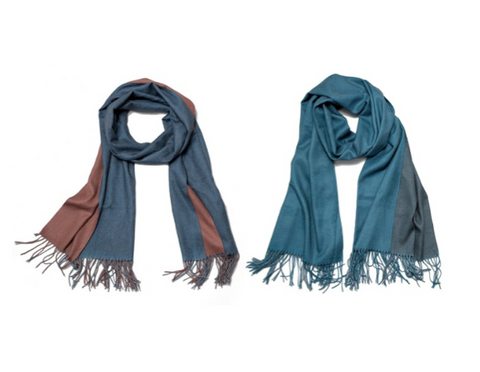 Double-Sided Soft Scarf