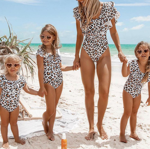 "Mommy & Me Swimsuit ""Leo"""