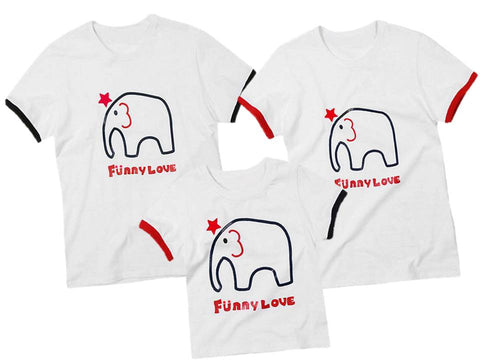 "Family T-Shirt ""Elephant"""