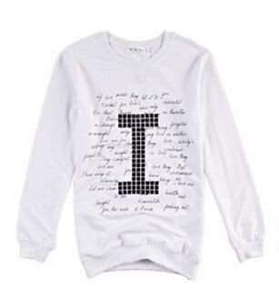 "Cotton Sweatshirt ""I/U"""