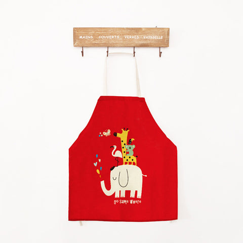 "Family Cooking Apron ""Funny Animals"""