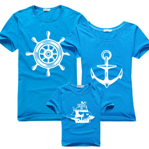"Family T-Shirt ""Sailor"""
