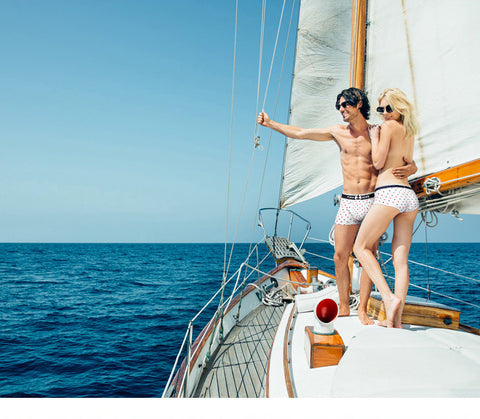 "Couple Underwear ""Sailor Romance"""