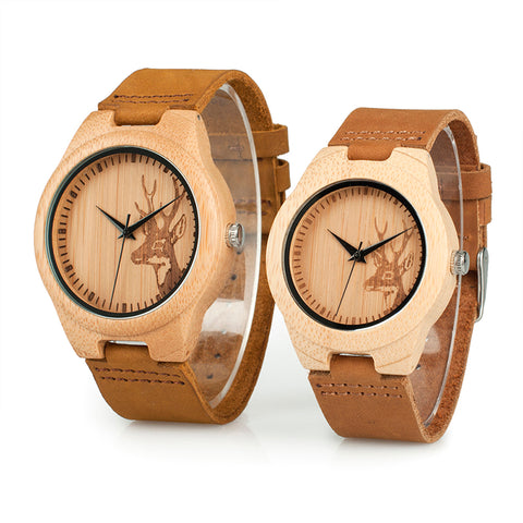 Couple Watch - Deer Print