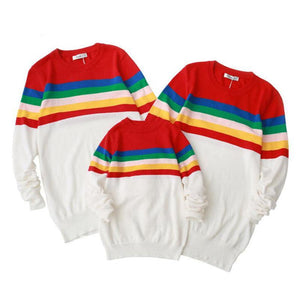 "Family Sweatshirt ""Rainbow"""