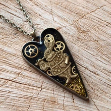 Nivens McTwisp Steampunk Heart Necklace