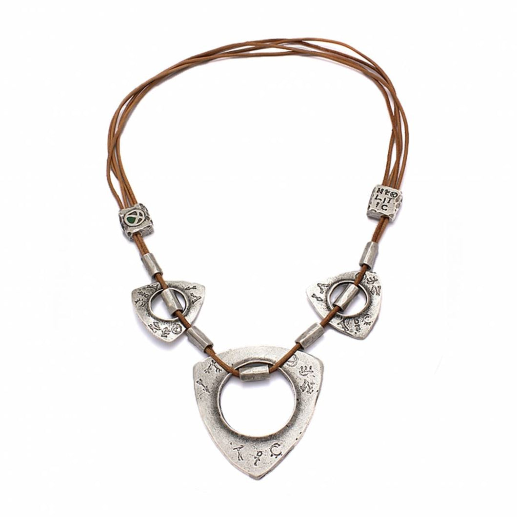 Feminine Aura Multi-Medallion Necklace