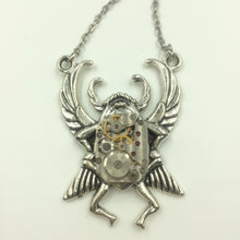 Scarab Steampunk Necklace