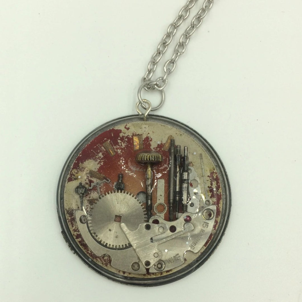 Seattle View Steampunk Necklace