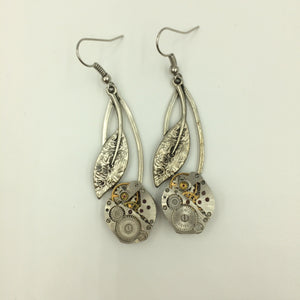 Cherry Steampunk Earrings