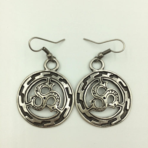 Scythian Sun Earrings