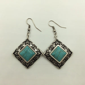 Argo Earrings Turquoise