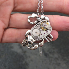 Scorpion Skull Steampunk Necklace
