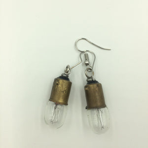 Lightbulbs Steampunk Earrings
