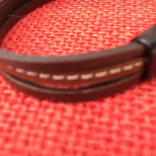 Brown Stitch Leather Bracelet