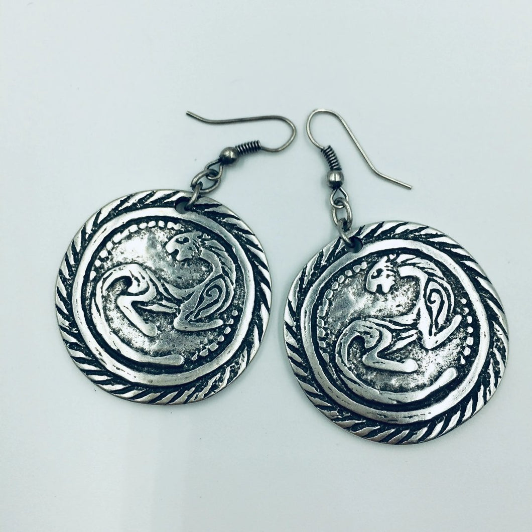 Panther Ring Earrings