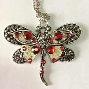 Dragonfly Steampunk Necklace