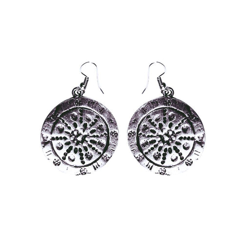 Trypillian Circle Earrings