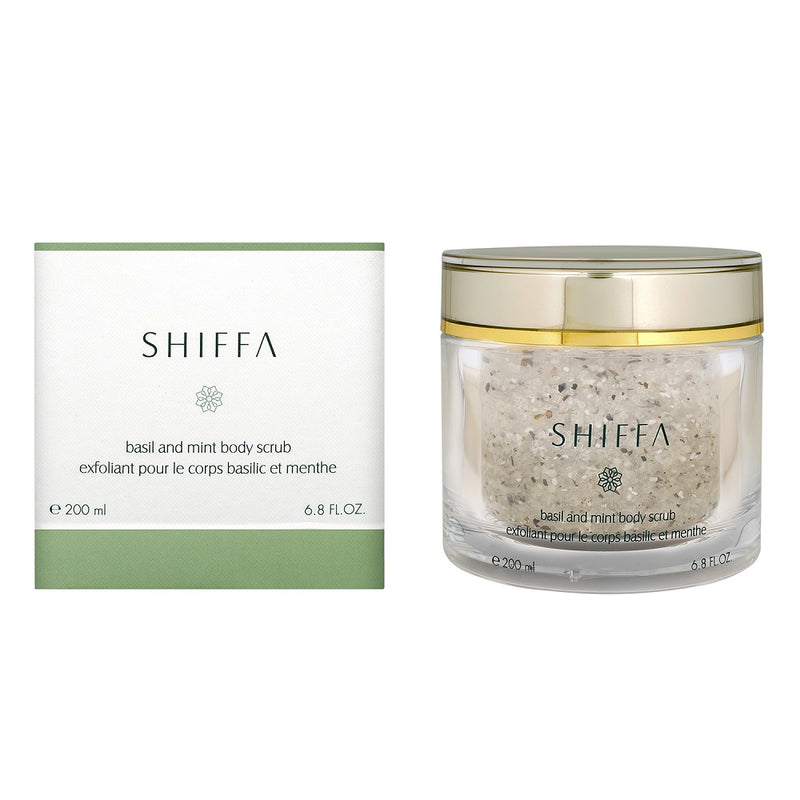 Basil and Mint Body Scrub-SHIFFA
