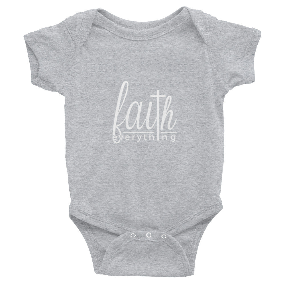 Faith Over Everything - Infant Bodysuit