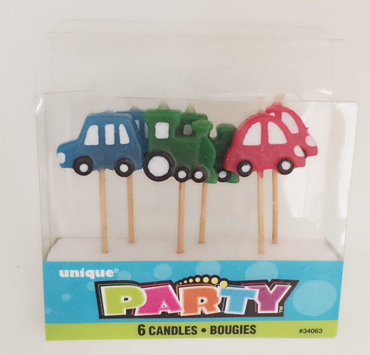Pack of 6 Car Candles