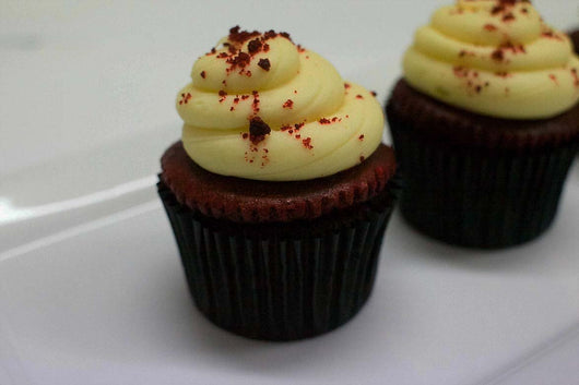 Box of 6 Red Velvet Cupcakes