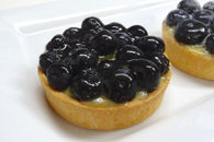 Box of 6 Individual Blueberry Tarts