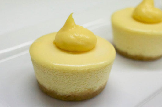 Box of 6 Individual Lemon & Lime Cheesecakes