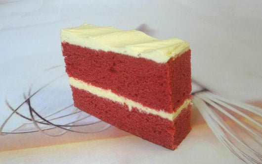 Box of 6 Red Velvet Cake Slices