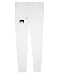 FF SOFTPANTS - WHITE + BLACK