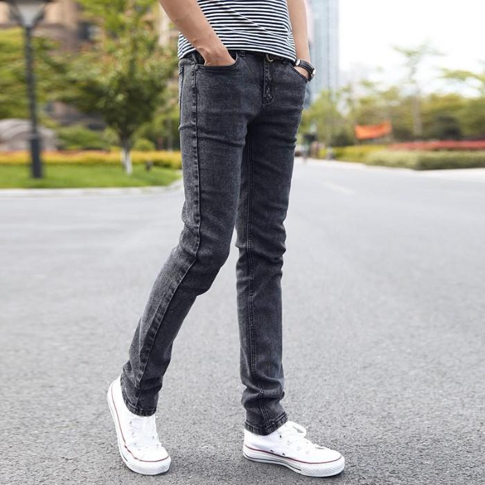 Elastic Casual Jeans