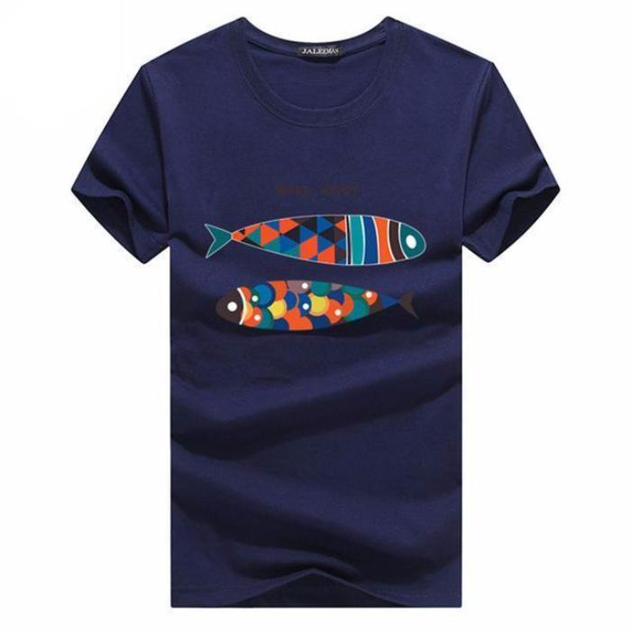 Colored Fish T-shirt