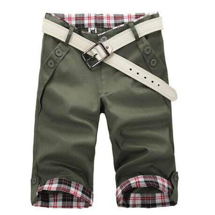 ArmyGreen Shorts