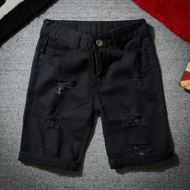 Teogene Denim Shorts