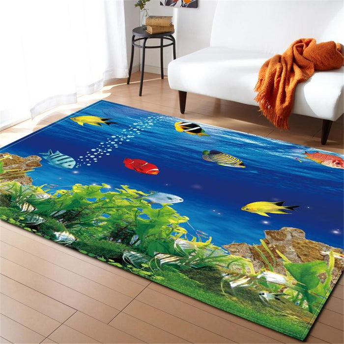 Underwater Life Carpet