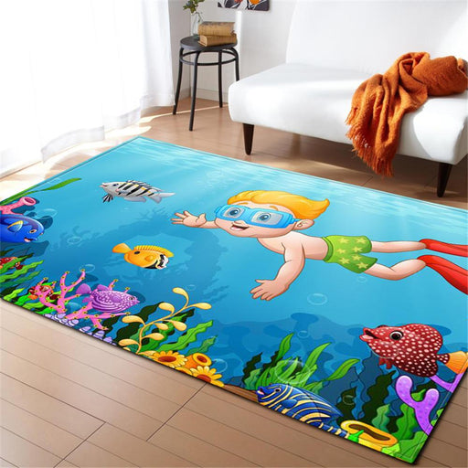 Little Diver Carpet