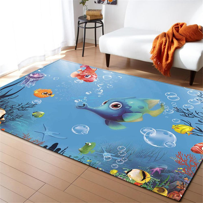Funny Fishes Carpet
