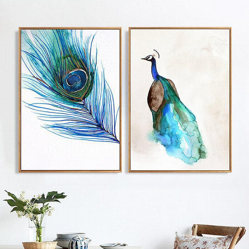 Nordic Style Peacock