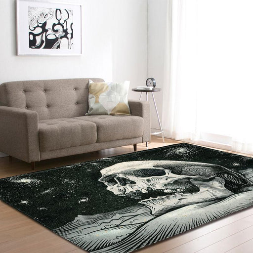 Screaming Skull Carpet