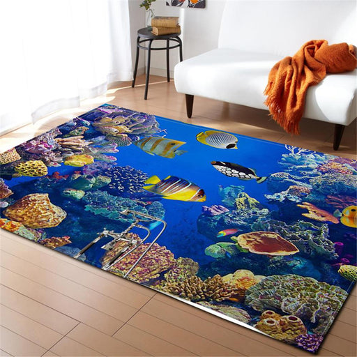Yellow Fishes Carpet