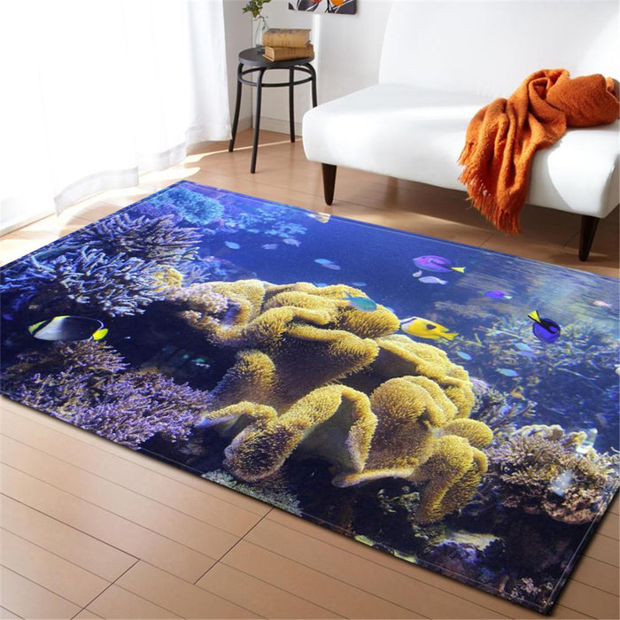 Yellow Coral Carpet