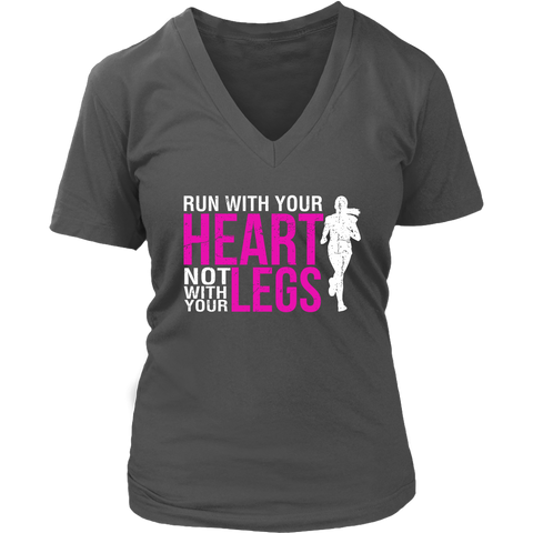 Image of Run With Your Heart Not With Your Legs