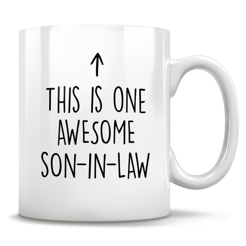 Image of This Is One Awesome Son-In-Law Mug