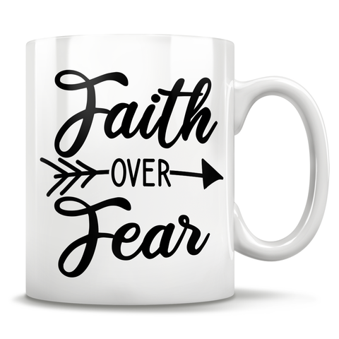 Image of Faith Over Fear Mug