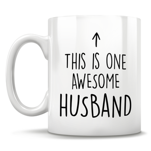 This Is One Awesome Husband Mug