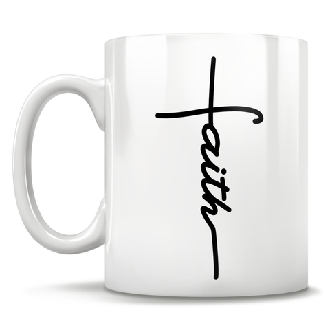 Image of Faith Cross - Mug