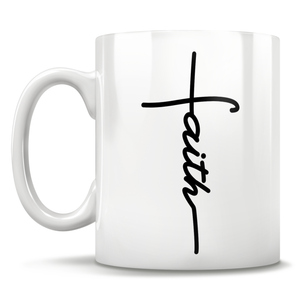 Faith Cross - Mug