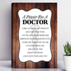 A Prayer For A Doctor Wall Art